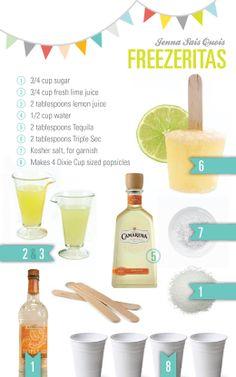 Freezer Margaritas from Jenna Sais Quois