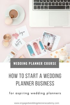 Inside this course you'll learn how to kick-start your wedding planning business. We'll show you how to take a DIY approach to branding, marketing, and website design. You'll receive guidance on registering your business, contracts, and insurance. We'll also give you numerous PDFs, videos, and tons of resources that will jump-start your wedding business. | How to Start a Wedding Planner Business, how to become a wedding planner, wedding planner education, wedding planner career, wedding…