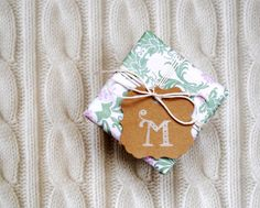 monogram gift tags  monogrammed favor  wedding by magdalenarose, $3.00