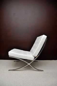 Barcelona Chair White - Ludwig Mies van der Rohe