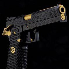 Ninja Weapons, Weapons Guns, Airsoft Guns, Guns And Ammo, Armas Ninja, Custom Guns, Custom 1911 Pistol, Military Guns, Fire Powers
