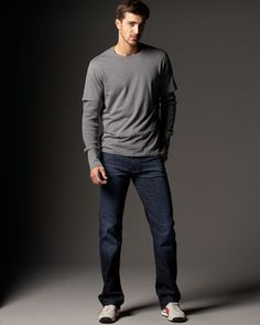 Austyn Los Angeles Stretch Jeans by 7 For All Mankind at Bergdorf Goodman.