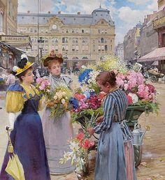 Louis Marie De Schryver via @richardgreengallery #arthistory #historyofart #paintingsdaily