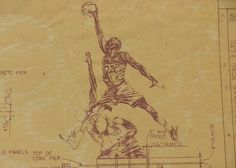 Michael Jordan United Center Statue Blueprints