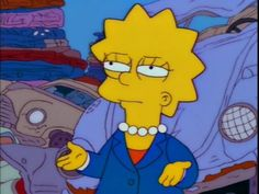 Find images and videos about meme, cartoon and lisa on We Heart It - the app to get lost in what you love. Cartoon Icons, Cartoon Memes, Simpsons Simpsons, Cute Memes, Funny Memes, Cartoon Profile Pictures, Lisa S, Mood Pics, Vintage Cartoon