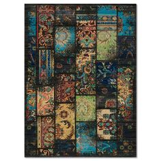 Find it at the Foundary - Vintage Charcoal Area Rug