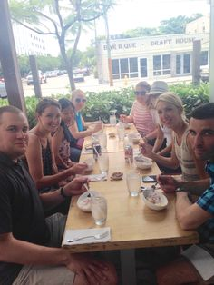 5/18/15 enjoying ceviche at the Wynwood food tour by Miami Culinary Tours www.maimiculinarytours.com