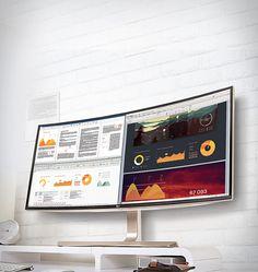 """LG introduziu o primeiro monitor de 38"""" Curvo Ultrawide™ do…"""