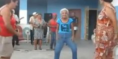 88 Years Old Woman Dancing Salsa As You've Never Seen Before. VIDEO