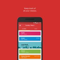 Class Tracker App on Behance