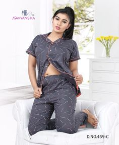 kavyansika 459 premium hosiery night suit collection