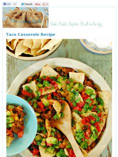 taco casserole:  Check out this Mad Mimi newsletter