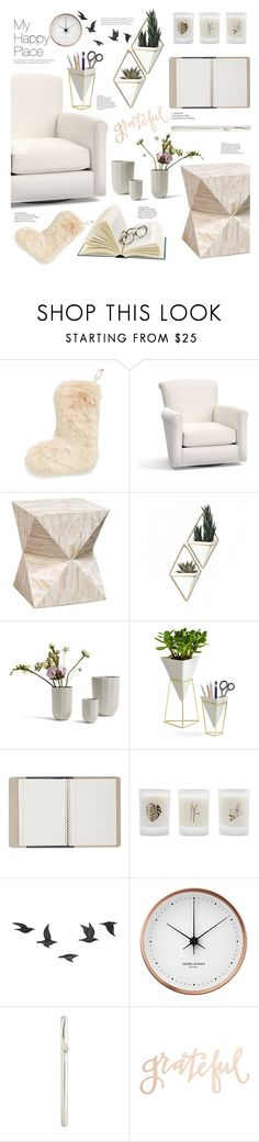 """""""Home Sweet Home: My Happy Place"""" by arwitaa ❤ liked on Polyvore featuring interior, interiors, interior design, home, home decor, interior decorating, Nordstrom, Pottery Barn, Palecek and Umbra"""