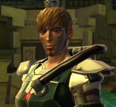 Mandalorian warrior. Torian Cadera