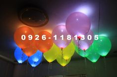Led Balloons, Neon Signs