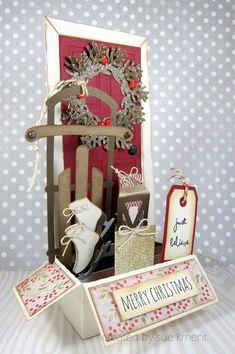 Christmas Door Box Card