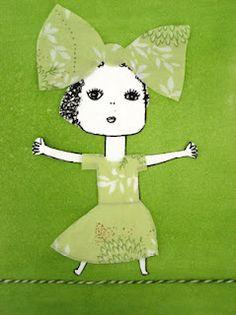 BRITT-MARIE OSKARSSON Wat een prachtige kleur. Girly Green