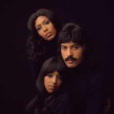 Tony Orlando and Dawn: Tony Orlando, Telma Hopkins and Joyce Vincent Wilson in the early 1970s.