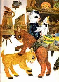 Anemone: Ileana Ceausu Pandele - Capra cu trei iezi