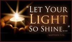 Light Shine Ecard