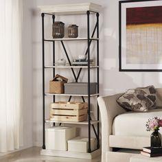 """Deidrian 84"""" Etagere Bookcase"""