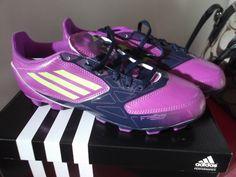purple soccer cleats