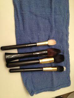 Como lavar las brochas de maquillaje!