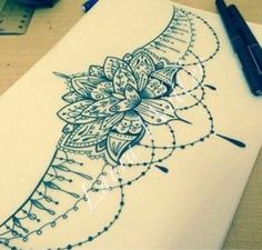 Resultado de imagen para mandala tattoo lower back