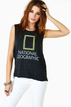 National Geographic Muscle Tee