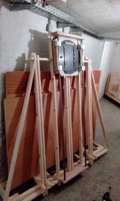 mobile Plattensäge Bauanleitung zum selber bauen