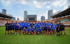 Last training in China