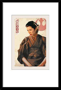 LIMITED EDITION Princess Leia The Princess 13x19 by bigbadrobot, $25.00