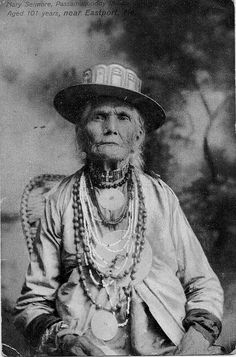 Older Passamaquoddy woman, 1905? – 1915?  by Marquette University Archives, via Flickr