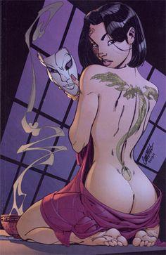 Kabuki by J. Scott Campbell