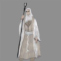 Saruman x by on DeviantArt Character Design, Digital Art