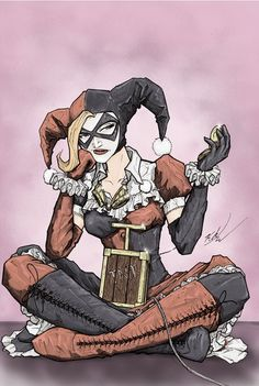 Harley Quinn | Some Of Your Favorite Comic Book Heroes Get A Steampunk Treatment