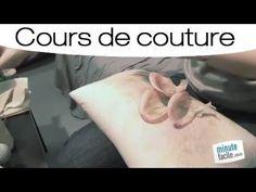 Couture : Apprendre à faire une fleur en soie - YouTube