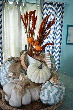 Home Decor, Finally Fall! Pumpkin Centerpieces, Diy Centerpieces, Fearless Friday, Coastal Fall, Little Falls, Fall Pumpkins, Thanksgiving Decorations, Vignettes, Flower Arrangements