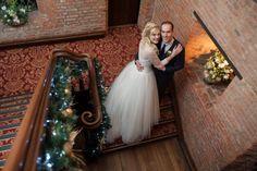Christmas Bride and Groom