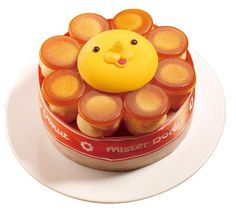 Amazing lion donut from Mister Donut in Japan <3