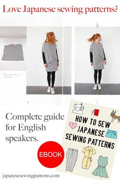 Don't speak any Japanese? No problem! Learn how to translate and sew Japanese patterns with the popular eBook, 'How to Sew Japanese Sewing Patterns'. You can download a free sample of the eBook at http://www.japanesesewingpatterns.com