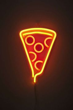 Slide View: 2: Pizza Neon Sign