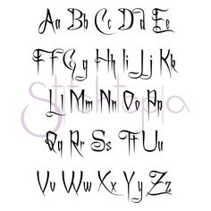 Spooky Embroidery Font Set 1 2 3 - Fonts - Ideas of Fonts - Spooky 1 2 & Upper & Lower Graffiti Lettering Fonts, Tattoo Lettering Fonts, Creative Lettering, Typography Fonts, Lettering Design, Tattoo Writing Fonts, Cool Lettering, Calligraphy Fonts Alphabet, Tattoo Fonts Alphabet