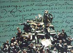 Cristóbal HALFFTER JIMÉNEZ - ENCINA. Don Quijote. Escena de la ópera (Producción del Teatro Real, 2000).  Teatro Real (Madrid).  Foto: Elena Martín.