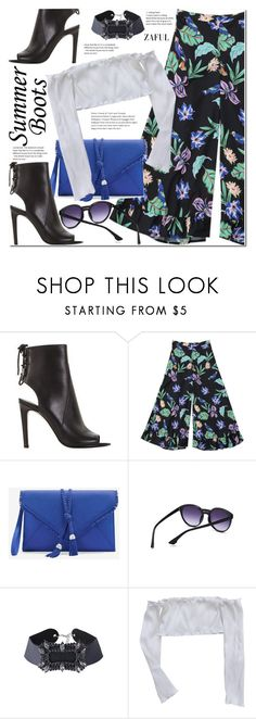 """Walk This Way: Summer Booties"" by duma-duma ❤ liked on Polyvore featuring White House Black Market and summerbooties"