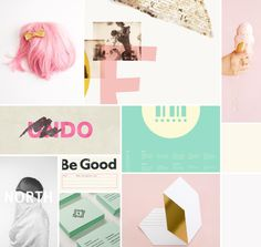 beautiful moodboard by breanna rose - great colors and design