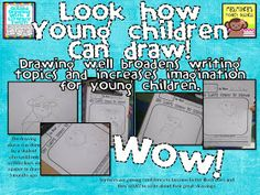 Mrs. Miner's Kindergarten Monkey Business: Teaching Children to Draw and Write {freebie, too}