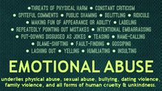 There was no such thing as an emotionally abusive relationship 20 years ago. Well, there was – I know because I was in one. But society pretended they didn't exist. If you didn't have a black eye or a broken arm, you had nothing to complain about.