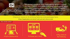 Wondering to launch an online food ordering system!!! Smart eat the clone of just eat which holds the striking features for the sellers and buyers to experience new way of food ordering. Smart eat with its native apps will make your food ordering model a best option around your end-users.