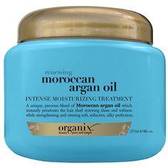 Organix Máscara de Hidratação Intensa Moroccan Argan Oil 237ml - Nikkey Cosmeticos